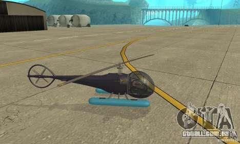 Dragonfly para GTA San Andreas esquerda vista