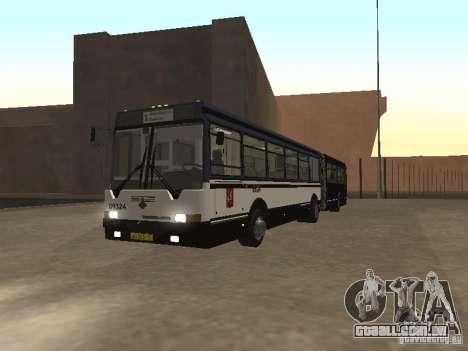 Autocarros 6222 para GTA San Andreas esquerda vista