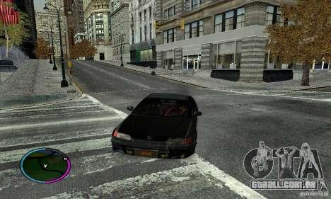 Honda CRX Tuned para GTA San Andreas esquerda vista