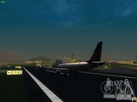 Embraer ERJ 190 Lufthansa Regional para GTA San Andreas vista direita