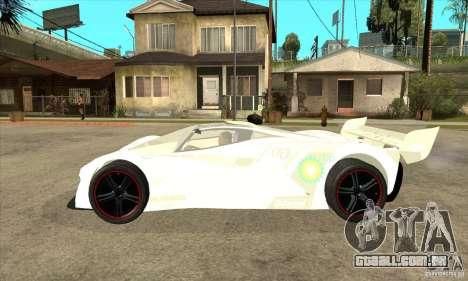 Mazda Furai para GTA San Andreas esquerda vista