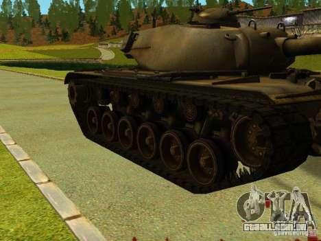 T-110E5 para GTA San Andreas esquerda vista