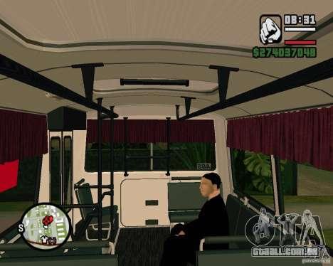 Capacidade de sentar-se para GTA San Andreas segunda tela