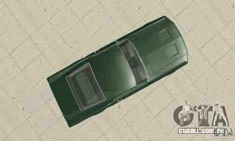 Ford Mustang Bullitt 1968 v.2 para GTA San Andreas vista direita