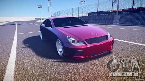 Mercedes Benz CLS Light Tuning v1.0 Beta para GTA 4 vista de volta