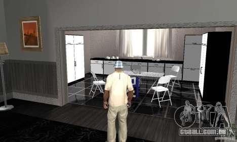 Novas texturas interiores para casas seguras para GTA San Andreas segunda tela
