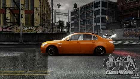 BMW M5 e60 Emre AKIN Edition para GTA 4 esquerda vista