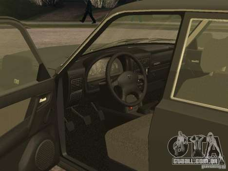 GAZ 3110 v 2 para GTA San Andreas vista direita