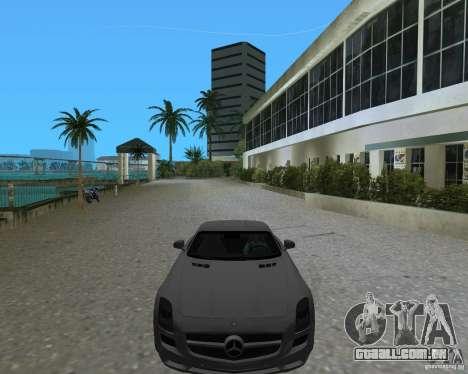 Mercedes Benz SLS AMG para GTA Vice City vista direita