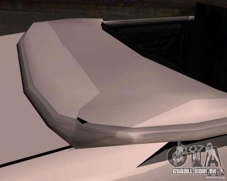 Taxi Cabrio para vista lateral GTA San Andreas