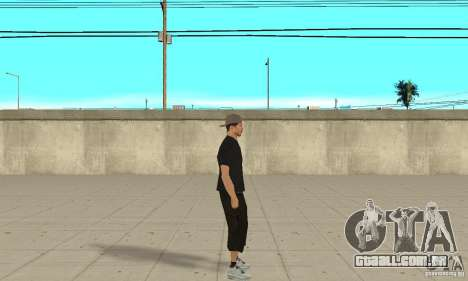 David Blane Skin para GTA San Andreas