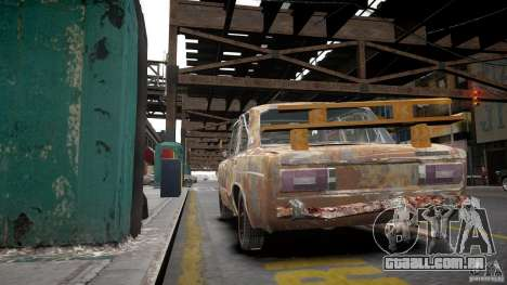 Rusty 2106 VAZ para GTA 4 vista interior