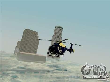 Eurocopter EC-135 Essex para GTA San Andreas vista direita