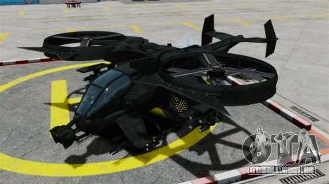 Um helicóptero de combate Scorpion AT-99 para GTA 4