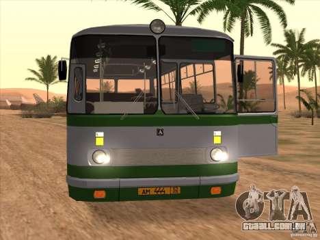 Novos scripts para autocarros. 2.0 para GTA San Andreas