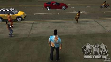 Royo Skin mit Brille para GTA Vice City segunda tela