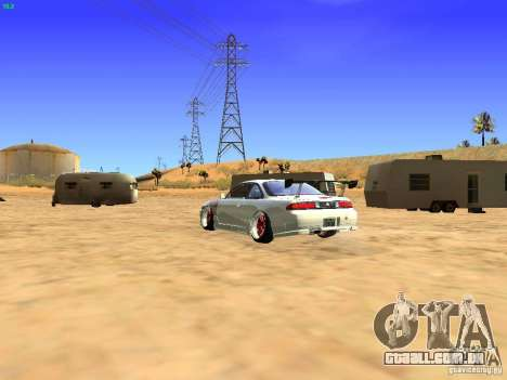 Nissan Silvia S14 JDM para GTA San Andreas esquerda vista