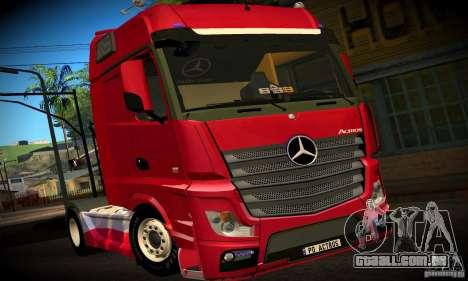 Mercedes-Benz Actros 2012 para GTA San Andreas