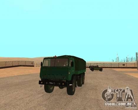 KAMAZ 4310 para GTA San Andreas
