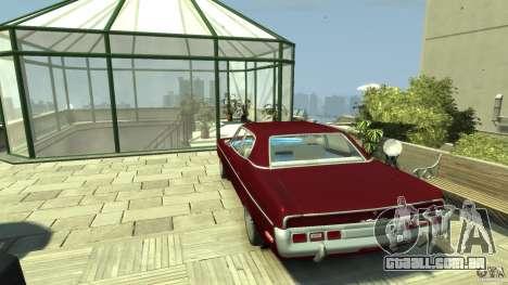 AMC Matador para GTA 4 traseira esquerda vista