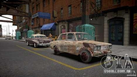 Rusty 2106 VAZ para GTA 4 vista direita