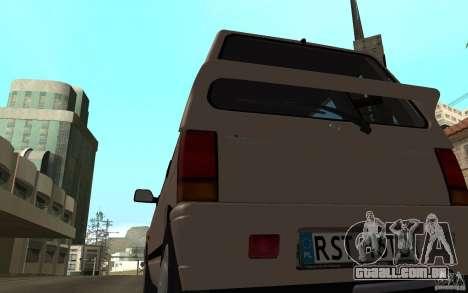 Daewoo Tico SX para GTA San Andreas vista direita