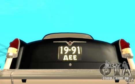 Black Lightning para GTA San Andreas sétima tela