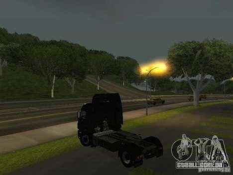 KAMAZ 1840 v 2.0 para GTA San Andreas esquerda vista