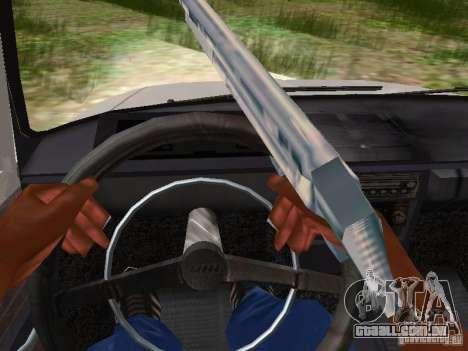 AZLK-412 para GTA San Andreas vista interior