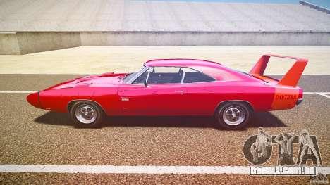 Dodge Charger Daytona 1969 [EPM] para GTA 4 esquerda vista