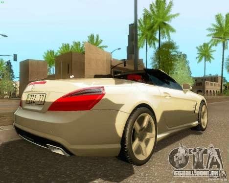 Mercedes-Benz SL350 2013 para GTA San Andreas vista direita