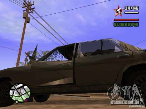ENBSeries para GForce 5200 FX v 3.0 para GTA San Andreas quinto tela