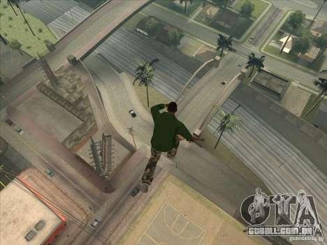 Saltar o Jet pack para GTA San Andreas