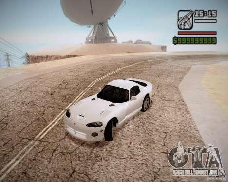 SA DirectX v1.2a para GTA San Andreas terceira tela