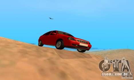 Van LADA priora para GTA San Andreas traseira esquerda vista