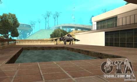 Guerra aérea para GTA San Andreas quinto tela