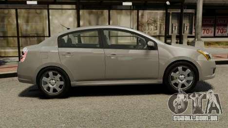 Nissan Sentra S 2008 para GTA 4 esquerda vista
