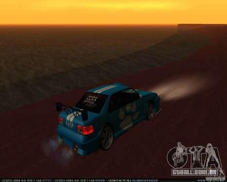 Novos vinis no Sultan para GTA San Andreas vista direita