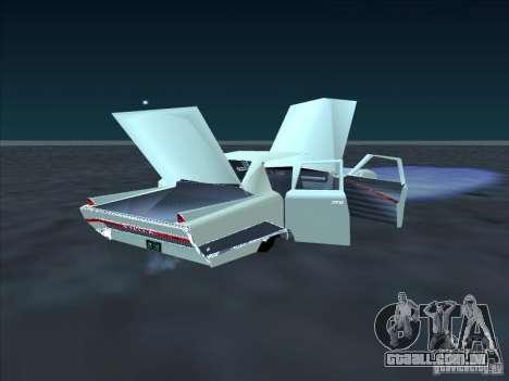 Cadillac Stella para GTA San Andreas vista traseira