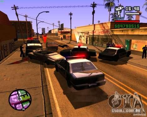 Perseguindo máquinas para GTA San Andreas