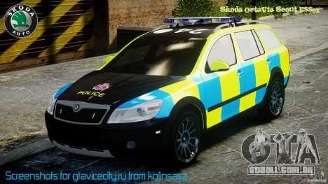 Skoda Octavia Scout Essex [ELS] para GTA 4