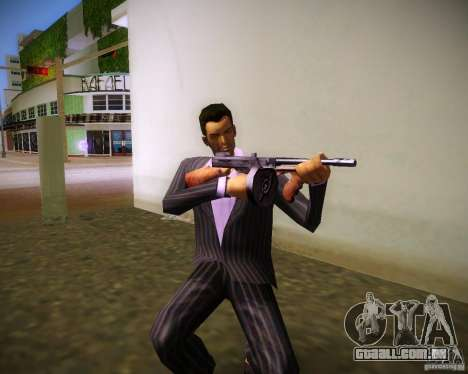 Thompson Model 1928 para GTA Vice City por diante tela