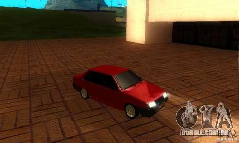 PROTOCOLO VAZ 21099 para GTA San Andreas vista interior
