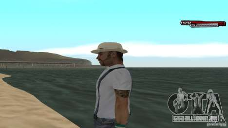 Skin Pack The Rifa Gang HD para GTA San Andreas twelth tela