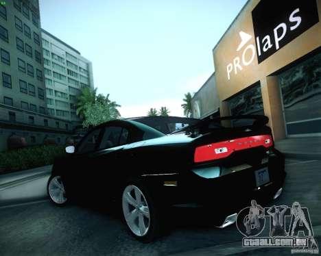 Dodge Charger 2011 v.2.0 para GTA San Andreas vista superior