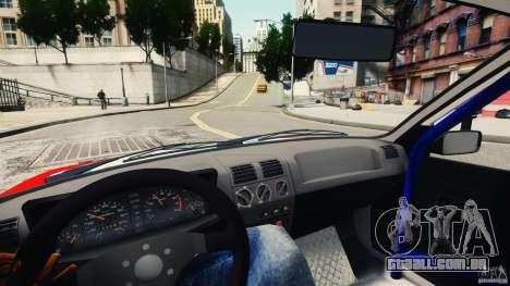 Peugeot 205 Rally para GTA 4 vista de volta