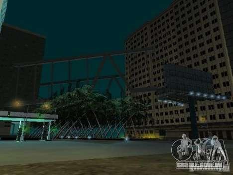 Nova cidade v1 para GTA San Andreas quinto tela
