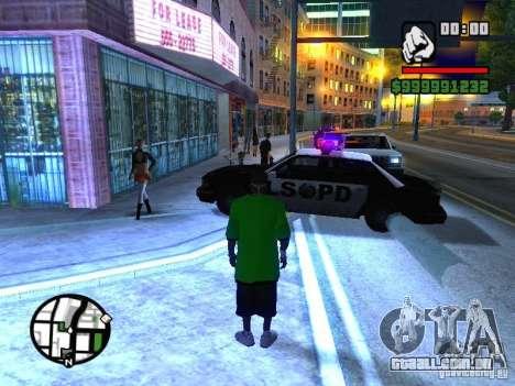 50 cent Skin para GTA San Andreas segunda tela