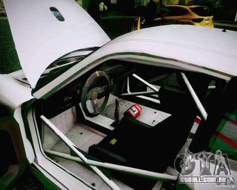 Porsche 911 GT3 para GTA San Andreas vista superior
