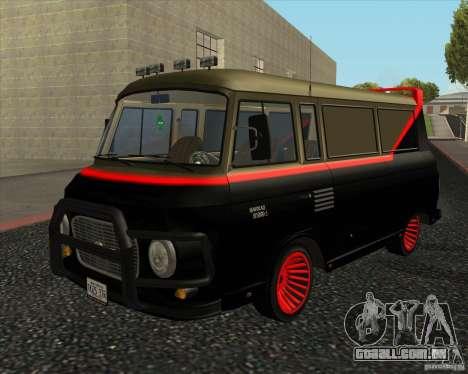 1961-1991 Barkas B1000 para GTA San Andreas esquerda vista